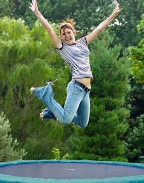 Gartentrampolin - outdoor Trampolin