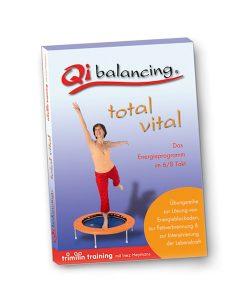 """""""Qi-Balancing"""" Übungs-DVD, gelenkschonendes Energietraining auf dem Trampolin"""