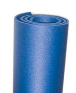 gymnastikmatte in blau