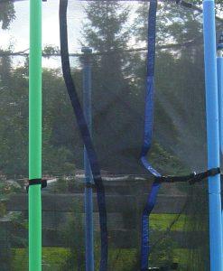 Schaumstoffabdeckung in Blau oder Grün für Stangen des Sicherheitsnetzes