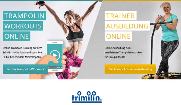 Trampolin Kurse und Workouts Online