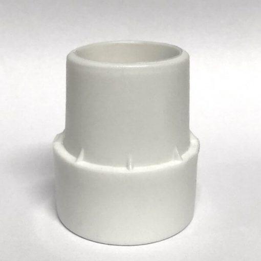 Trimilin Ttrampoline Fußkappe für Standbeine weiß