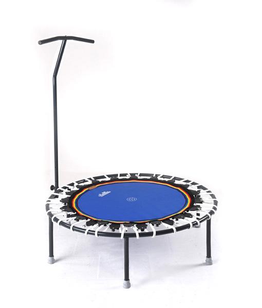 Trampolin Trimilin-jump & Haltestange - weiss-blau - kaufen