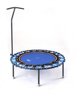 Minitrampolin mit T-Stange Trimilin-jump blau-blau