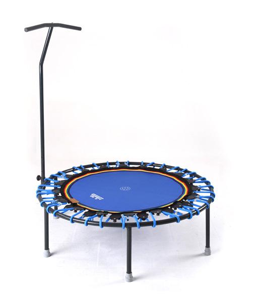 Trampolin Trimilin-jump & Haltestange blau-blau - kaufen