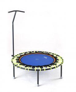 Trampolin Trimilin-jump & Haltestange neon-blau kaufen
