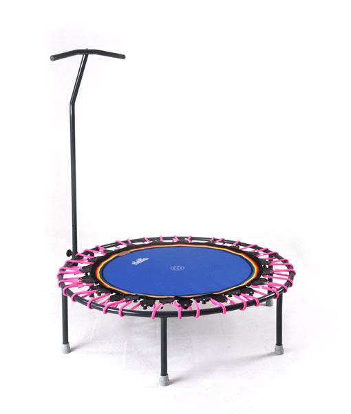 Trampolin Trimilin-jump & Haltestange pink-blau kaufen