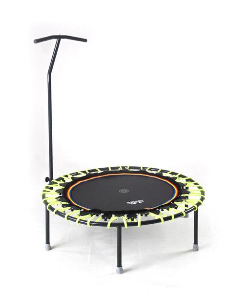 Trampolin Trimilin-jump & Haltestange schwarz-gelb kaufen