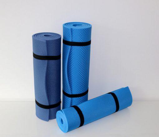 Gymnastikmatten in Blau in 3 Größen